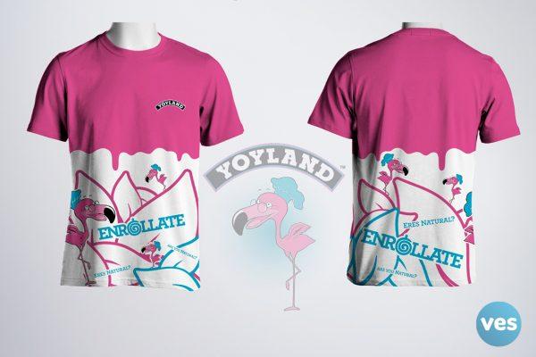 Camiseta Full Print Yoyland Vespublicidad