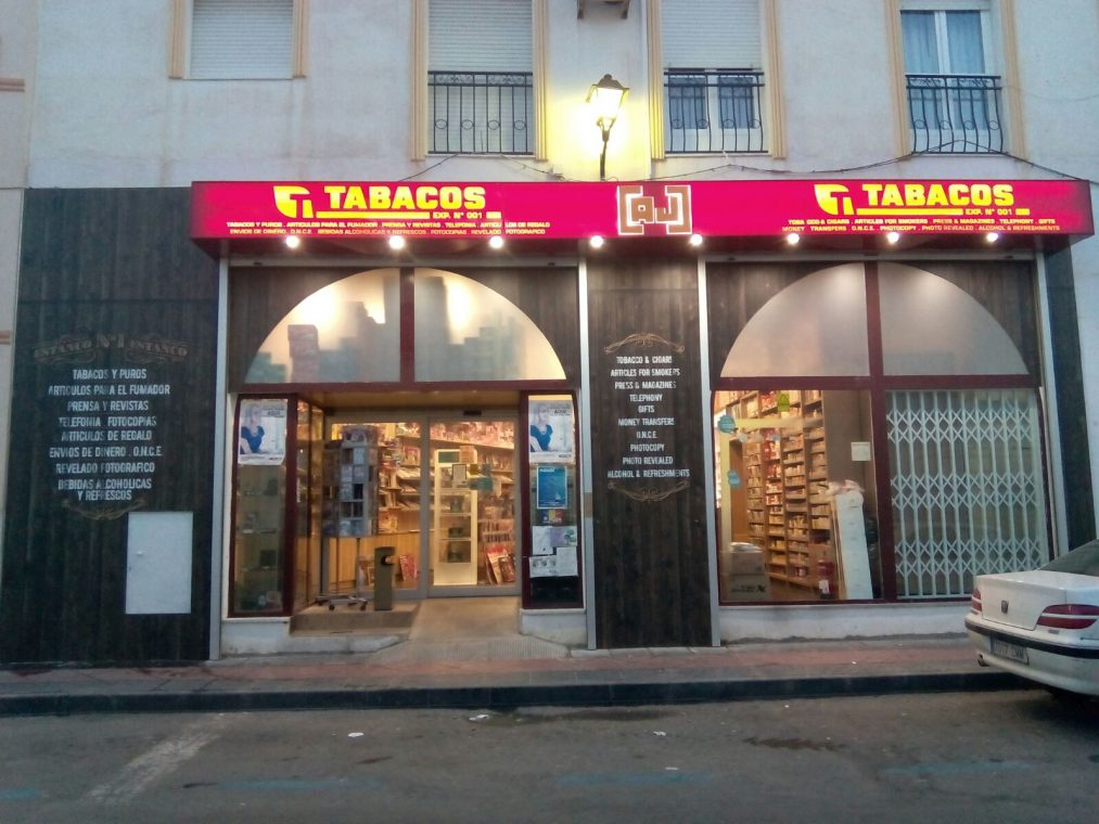 Fachada Estanco Aj Vera