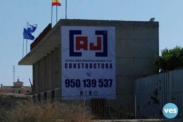 Lona Ajcc Estadio Fútbol Garrucha