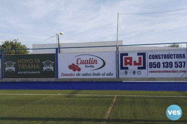 Lona Ajcc Estadio Fútbol Vera