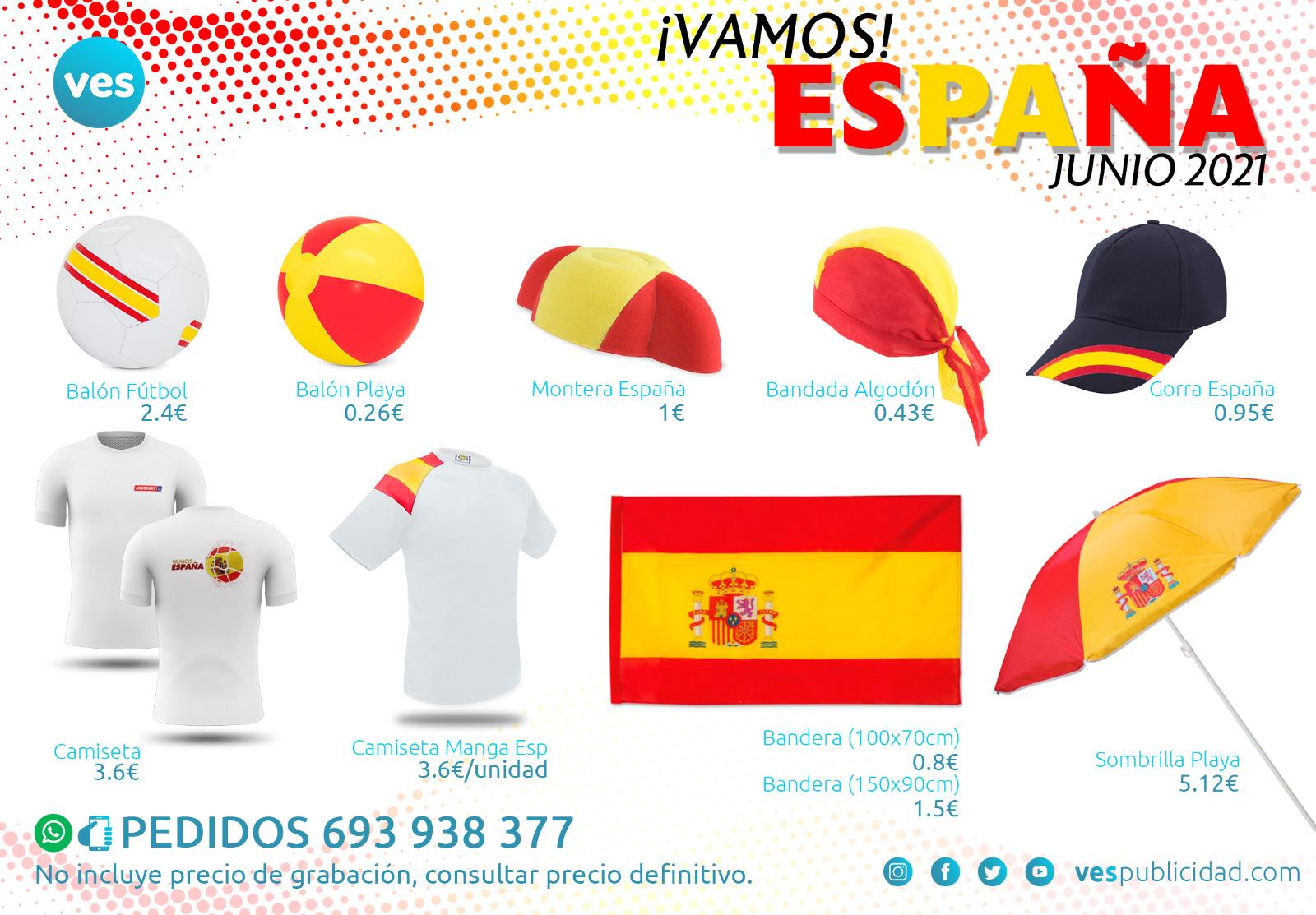 Eurocopa 2021 - Vamos España - Regalos