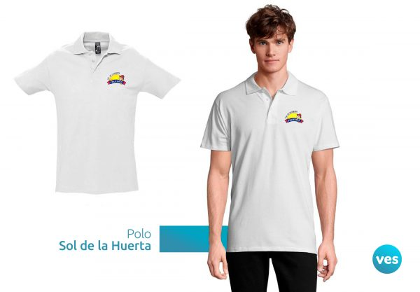 Polos Corporativos - Fruteria Sol de la Huerta - Vespublicidad